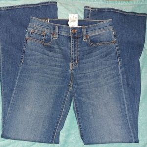 "J. Crew womens flare jeans 28"" x 34""NEW WITH TAGS"